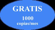 1000 Copias gratis