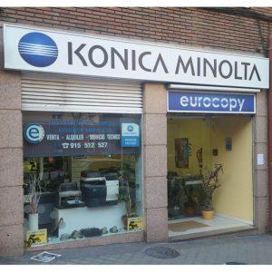 Konica Minolta Eurocopy Madrid